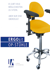 Broschüre zu den ERGOsit OP-Stühlen