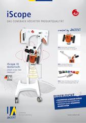 Broschüre zum Dentalmikroskop iScope